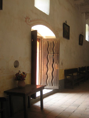 Purisma church door way