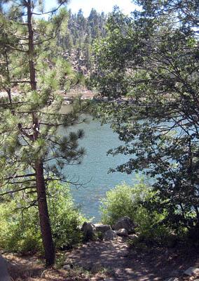 Lake at dam 8-11