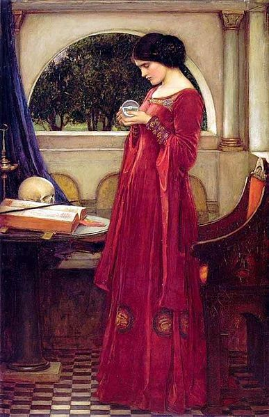 387px-John_William_Waterhouse_-_The_Crystal_Ball