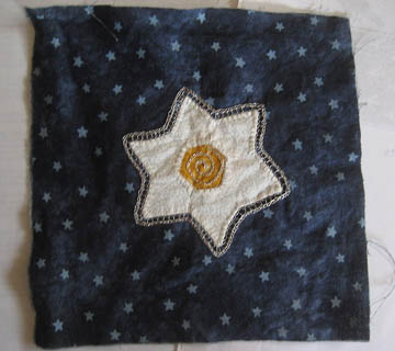 Applique star 2