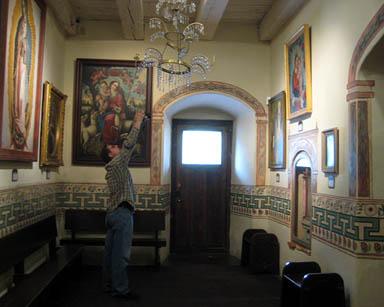 Small chapel Santa Inez