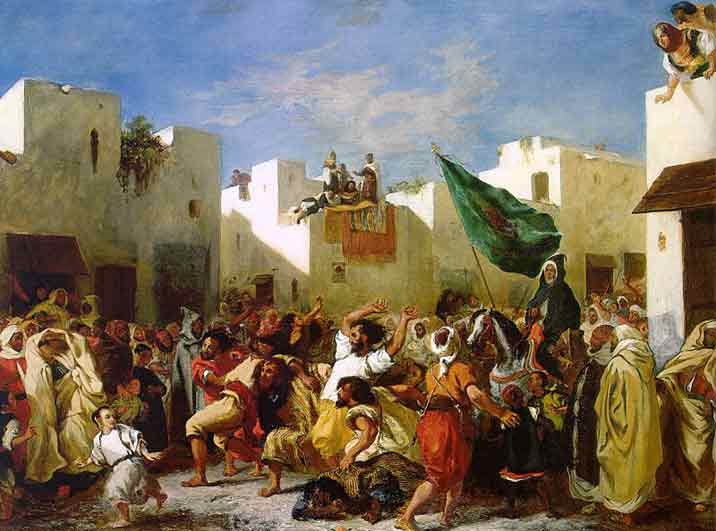 Delacroix-fanatics of Tangier