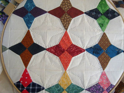 Star quilting 9-13-11