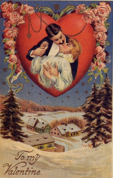 Victorian-valentine-heart-kissing-379x600