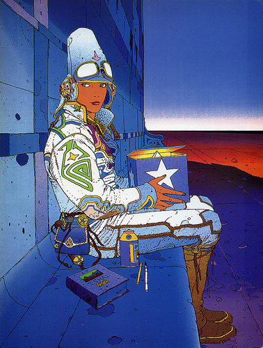 Moebius girl
