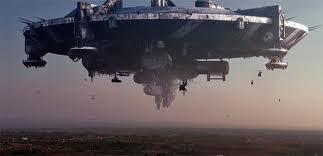 D-9 space ship