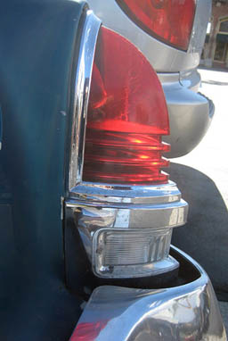 Mercury tail light