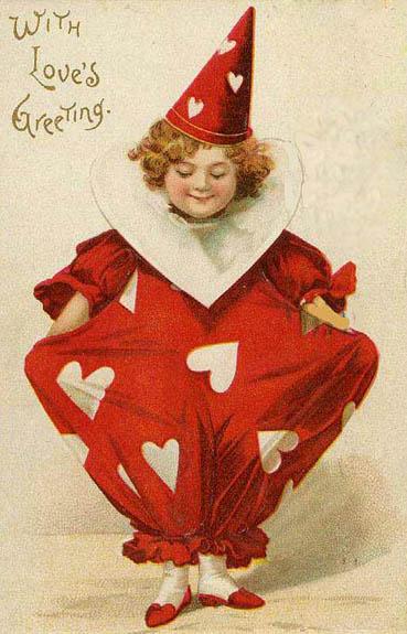Valentine-1908 clown