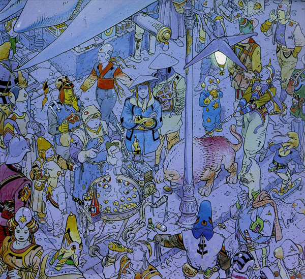 Crowd moebius