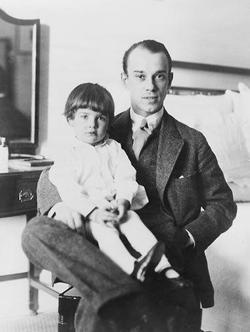Nijinsky and daughter