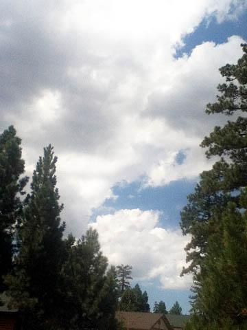 Cloud show