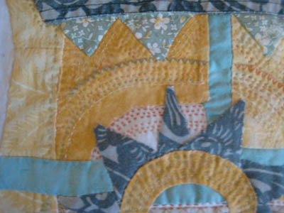 Sun applique  corner 1-1-13
