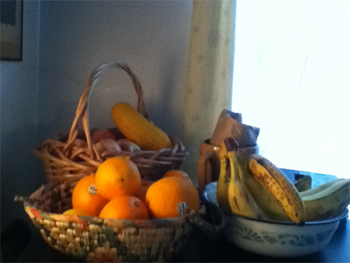Dec orange basket