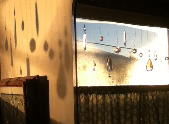 Mirror window shadow